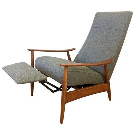 milo baughman recliner milo baughman high back walnut recliner 74 for thayer