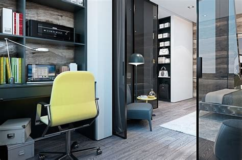 A Modern Flat With Striking Texture And Styling by 17 Best Images About Home Office Designs On