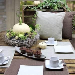 Herbst Dekoration Tisch : sch n f r jeden tag kissenh llen und tischsets breeze gedeckter tisch ~ Frokenaadalensverden.com Haus und Dekorationen