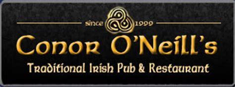 Conor O'Neill's Traditional Irish Pub and Restaurant ...