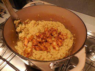 id馥 cuisine facile risotto de crevettes au curry