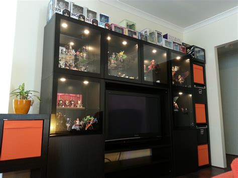 living room display cabinet myfigurecollectionnet