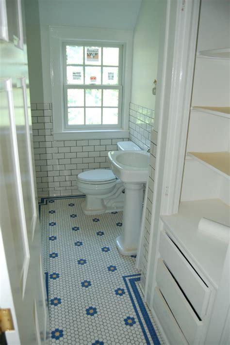 hex subway tile bathroom home bath
