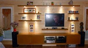 Support Etagere Invisible : meuble tele avec etagere choix d 39 lectrom nager ~ Premium-room.com Idées de Décoration