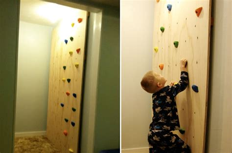 how to make an indoor wall diy kid s climbing wall at home with kim vallee