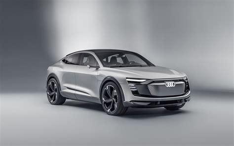 audi  tron sportback concept car  wallpapers hd
