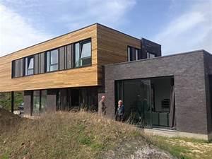 constructeur maison en bois pas cher montage maisons With couleur facade maison contemporaine 10 maison en bois maison ossature bois bardage douglas