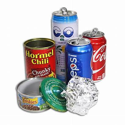 Cans Metal Foil Recycle Aluminum Recycling Recyclables