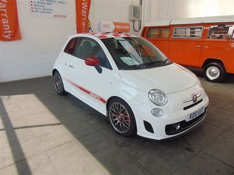 Fiat Abarth For Sale by Used White Fiat 500 Abarth For Sale Warwickshire
