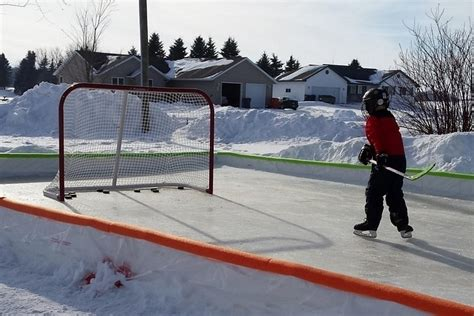 Hammock Skating Rink by Ez 60 Minute Backyard Skating Rink Gearnova
