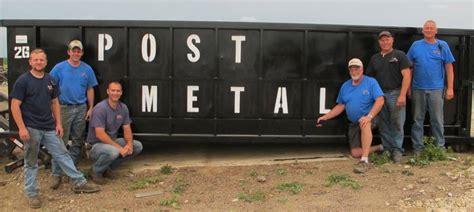 Got Scrap? We Can Help!  Post Metal Recycling