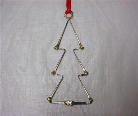 christmas tree horseshoe nail ornaments horseshoe nails