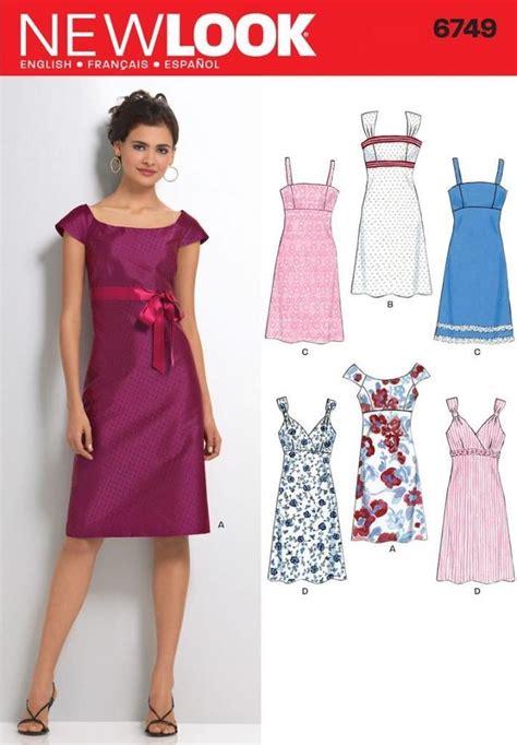 dresses for misses look sewing pattern misses 39 dress dresses size 6 16