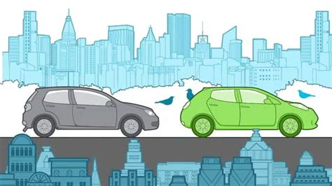 Electric Cars And Gas Cars by Electric Cars Global Warming Emissions