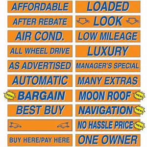 153939 fluorescent orange and blue window slogans With kitchen cabinets lowes with car dealer stickers