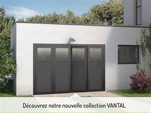 portes de garage sur mesure motorisees et sectionnelles With porte de garage fame