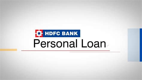 How To Apply For A Hdfc Bank Personal Loan On Bankbazaar