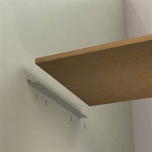Support Etagere Invisible : equerre de fixation invisible ~ Premium-room.com Idées de Décoration