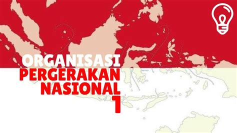 organisasi pergerakan nasional  indonesia bagian