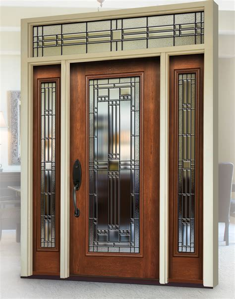 Entry Door With Window by A J Window And Door Provia The Professional Way