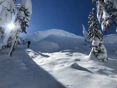 Lake Cliff Area Cornices Avalanches Avalanche