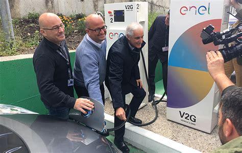 sede nissan italia primeras instalaciones de recarga el 233 ctrica v2g en italia