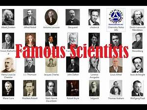 Famous Scientists and their Inventions - YouTube
