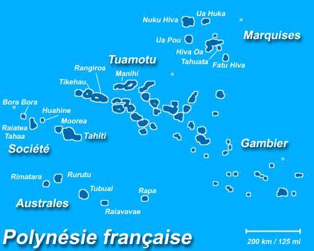 infos sur carte iles polynesie arts et voyages