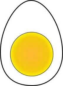 Boiled Egg Cartoon Clip Art