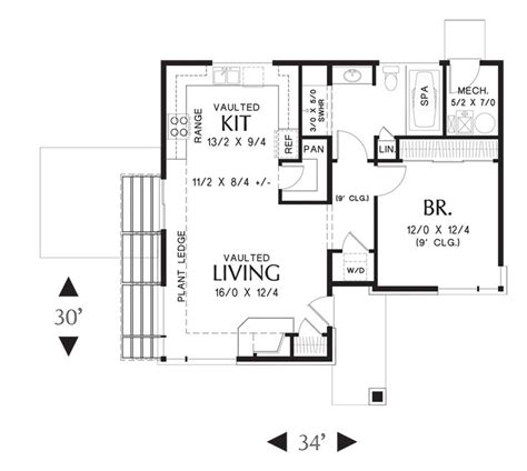 small prairie modern house plans lot 535 8 12 09 resize 332 best house plans images on house