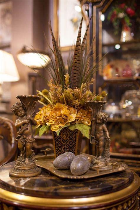 unique fall decor accessories silk flowers pinterest