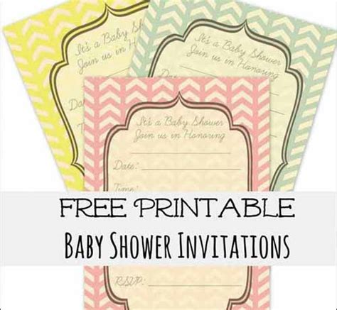 free editable baby shower invitation templates shower invitation cards 35 sets of printable templates to