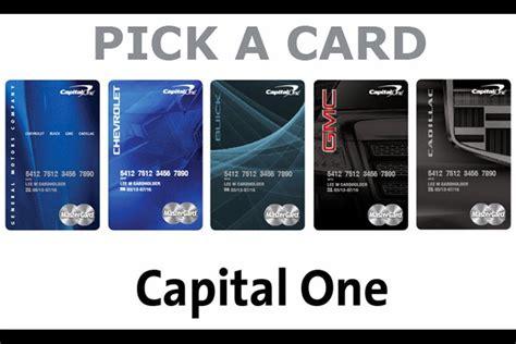 Gm, Capital One Launch New Rewards Card