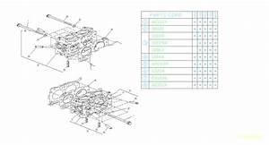 1994 Subaru Legacy Engine Cylinder Head Gasket
