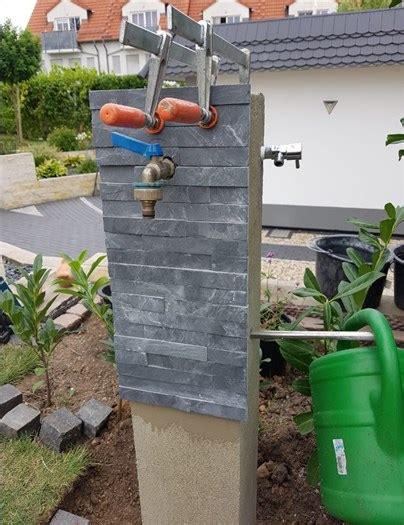 wasserzapfstelle selber bauen eine wasserzapfstelle wassers 228 ule selber bauen