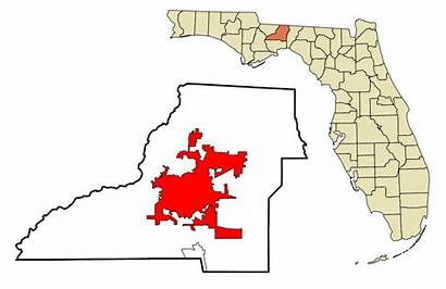 Florida Leon County Tallahassee Svg Areas Incorporated