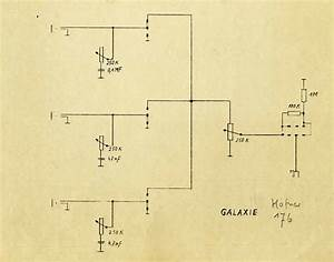 Hofner Galaxie Solid Guitar Schematic Diagram