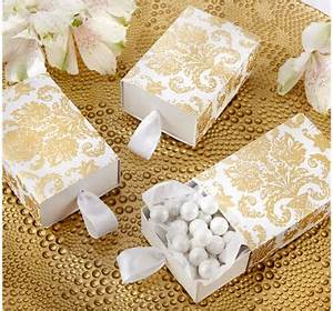 Wedding favor boxes wedding favor bags party city for Party city wedding favor boxes