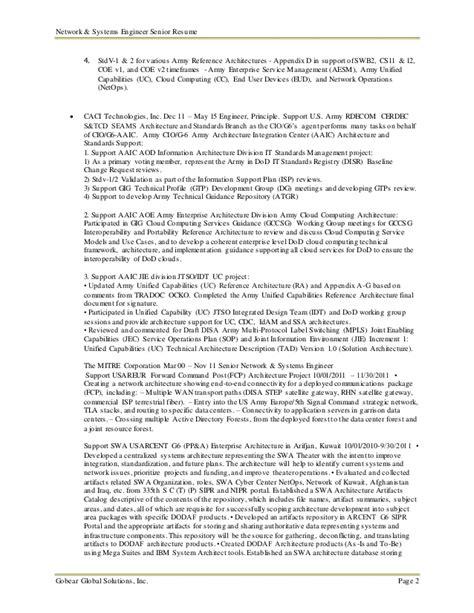 Senior Validation Engineer Resume by Senior Network Systems Engineer Resume Mike Liu