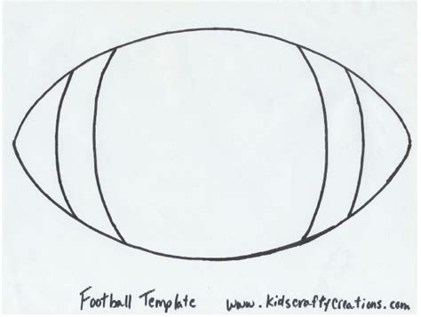 football template printable football name placques