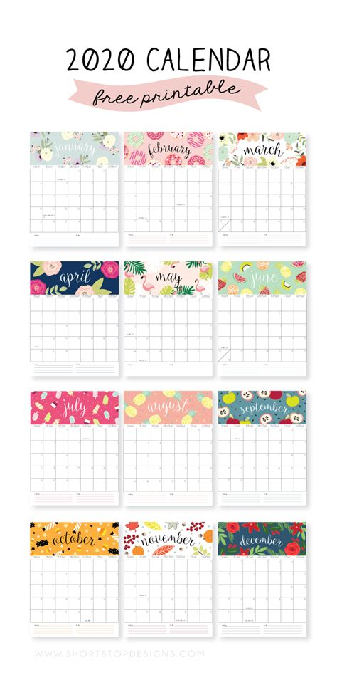 printable calendars lolly jane