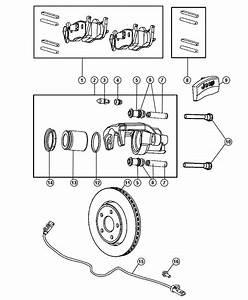 2006 Jeep Commander Caliper  Caliper Assembly  Disc Brake