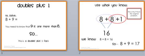 Doubles And Doubles Plus 1  Learning With Mrs Parker