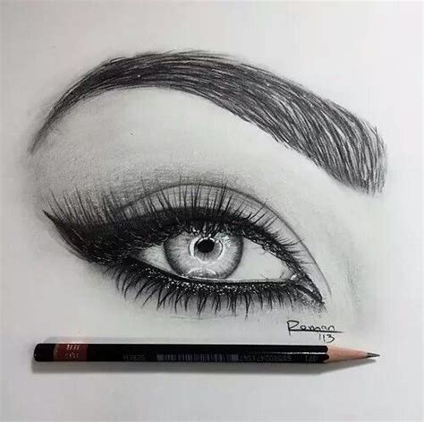 drawing eyebrows  heart   girl hair  pinterest