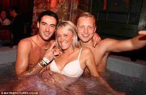 having a hot tub indoors jack tweed gets to grips with jacuzzi full of girls