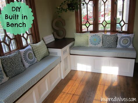 Built In Kitchen Bench Plans Pdf Woodworking