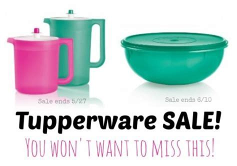 Tupperware Sale CLASSIC SHEER PITCHER SET & FIX N MIX BOWL