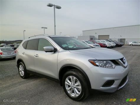 2014 Brilliant Silver Nissan Rogue Sv Awd 92688730
