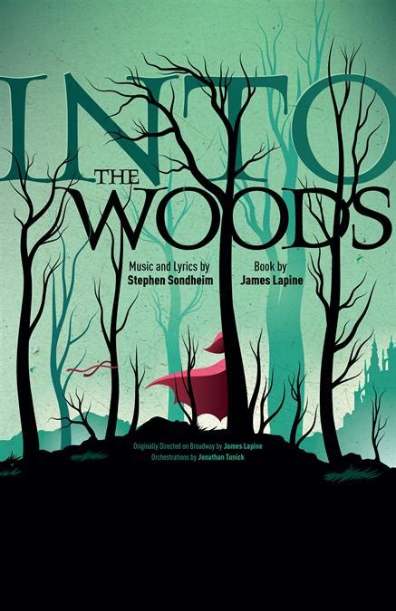 woods poster theatre artwork promotional