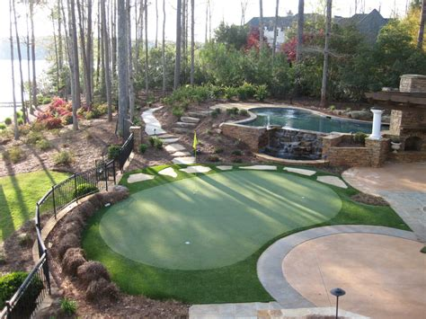 Putting Green For Backyard by Tour Greens Outdoor Putting Greens